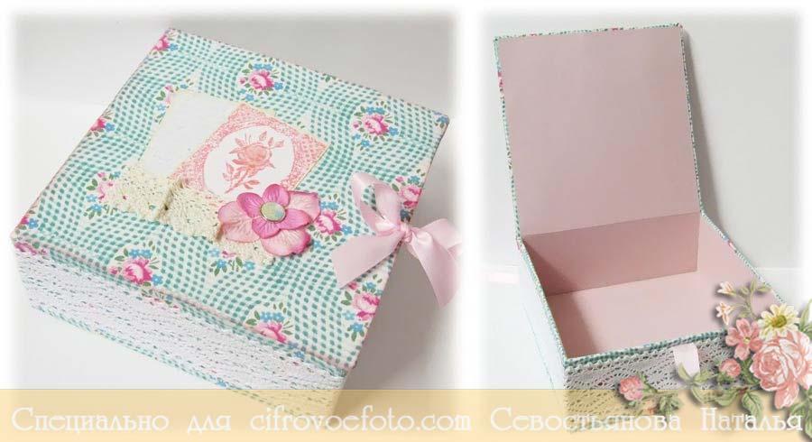 Шкатулка своими руками из картона для украшений